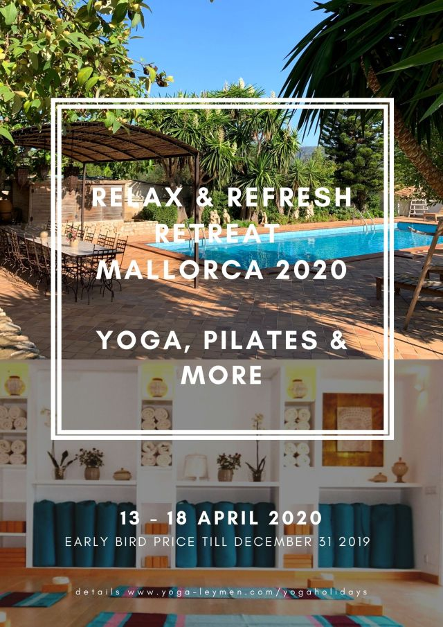 RETREAT IN MALLORCA. YOGA, PILATES & WELLNESS