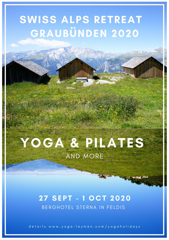 Swiss Alps 2020 flyer